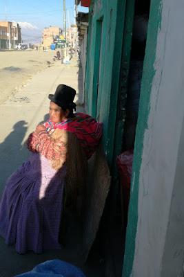 Strega al mercato di El Alto