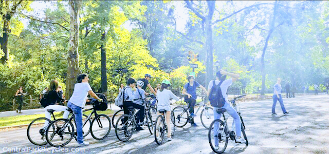 Central Park Bike Tours and Bike Rentals
