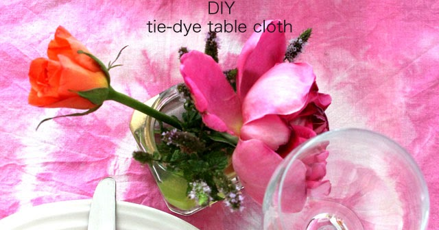 Lotts and Lots : tie dye table covers - amorenlinea.org
