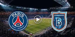 مشاهدة مباراة باشاك شهير وباريس سان جيرمان بث مباشر بتاريخ 28-10-2020 في دوري أبطال أوروبا