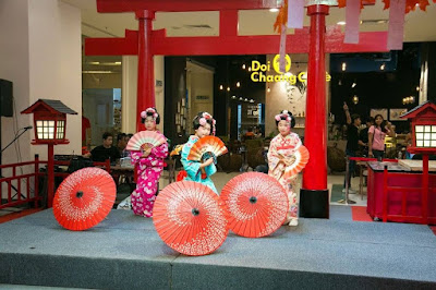 Shichi-Go-San, Shichi Go San The School Jaya One, The School Jaya One, busana tradisional jepun, lokasi the school jaya one, yukata dressing, makanan tradisional jepun, Shichi-Go-San festival