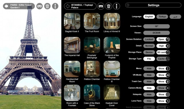 Virtual Tours to Eifel France, Turkey, Egypt
