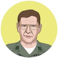 Apocalipsis ahora, 1979: COLONEL LUCAS: Un oficial de inteligencia durante la guerra de Vietnam.