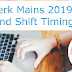SBI Clerk Mains 2019 Exam Date and Shift Timings - Check Here
