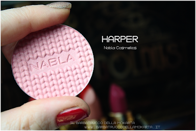 HARPER review  Blush Blossom   goldust collection Nabla cosmetics