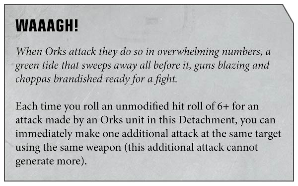 Waaagh Orkos Apocalypse