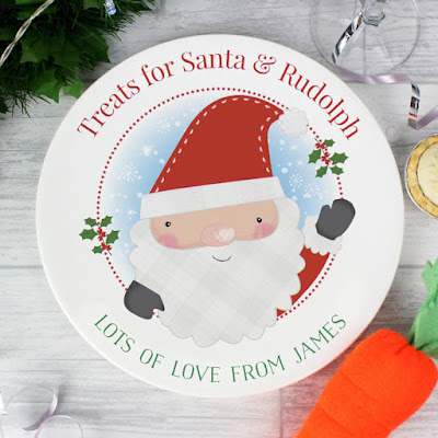 Personalised Ceramic Mince Pie Plate