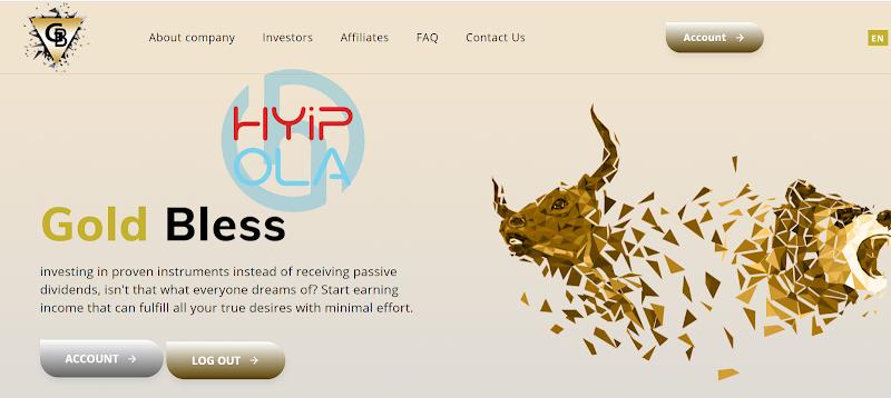 [SCAM] Review Gold Bless - Dự án dài hạn lãi từ 1.1% hằng ngày - Thanh toán Manual
