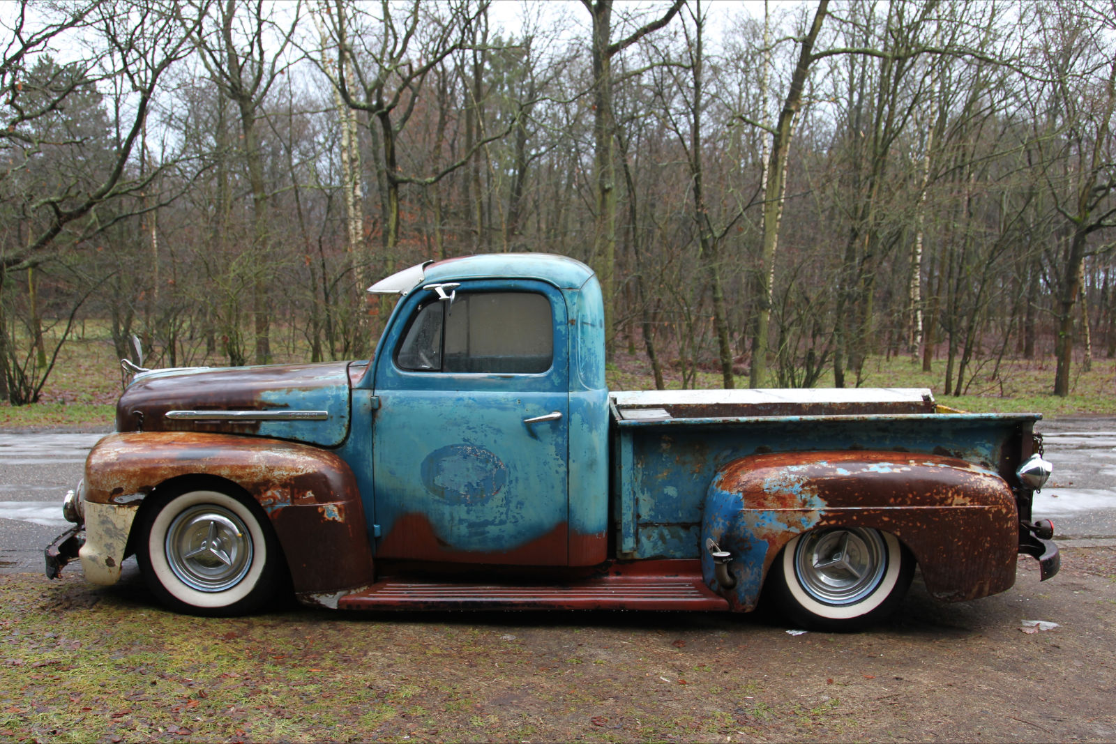 1941 Ford 5 Window Coupe F1 Truck