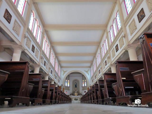 Vista do interior da Paróquia Santo Inácio de Loiola - Vila Mariana - São Paulo