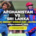 ICC WORLD CUP 2019 LIVE STREAMING - Match 7 Afghanistan Vs Sri Lanka