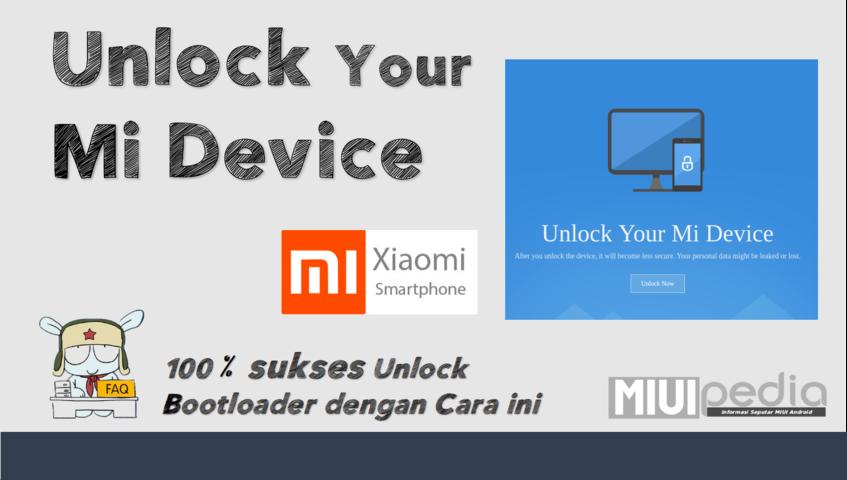 Tutorial Lengkap 100% Sukses Unlock Bootloader XIOMI dengan Cara ini