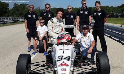 Kohl e a equipe JCR (roadtoindy.net)