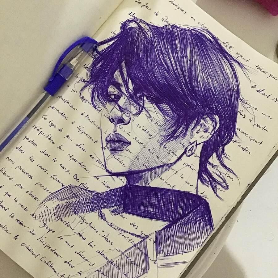 02-Ballpoint-Pen-Portraits-Pınar-Nur-Guven-www-designstack-co