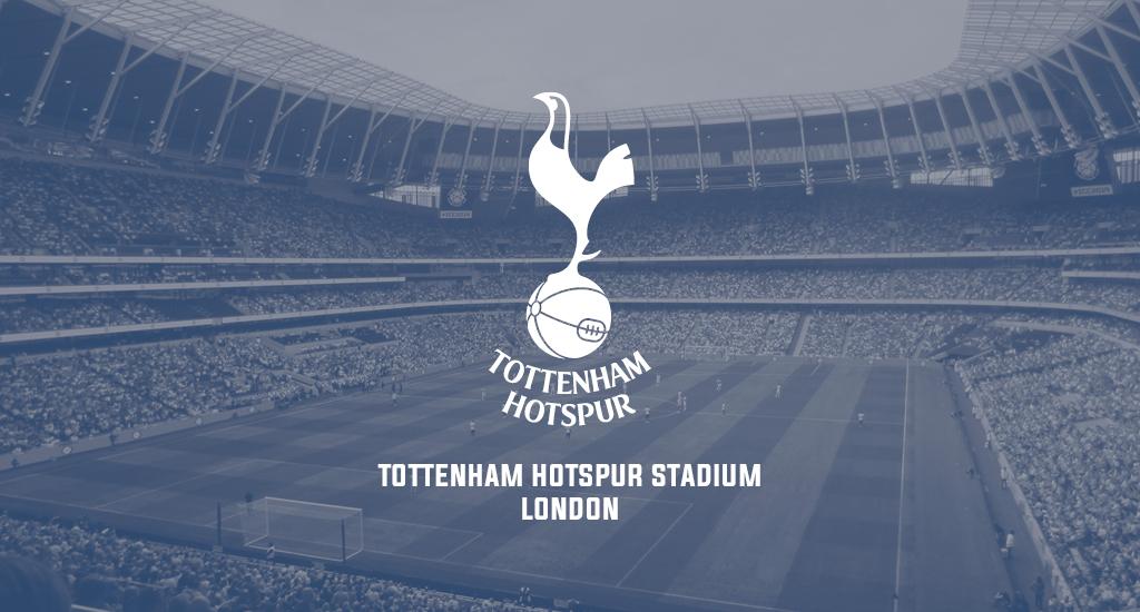 Tottenham Hotspur stadium and logo