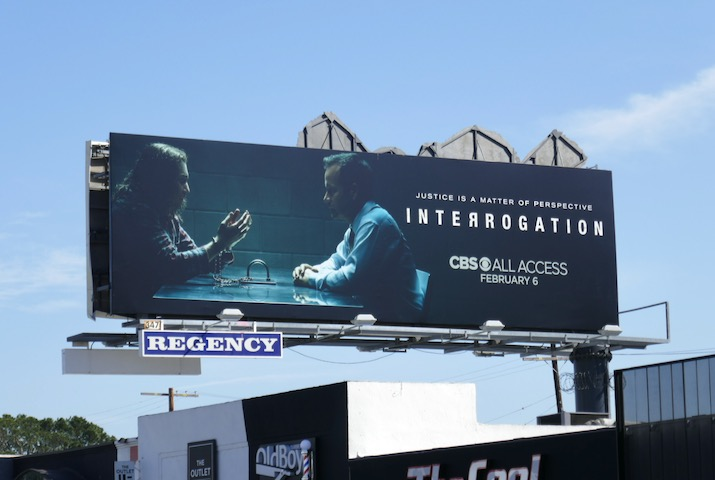 Interrogation CBS All Access billboard