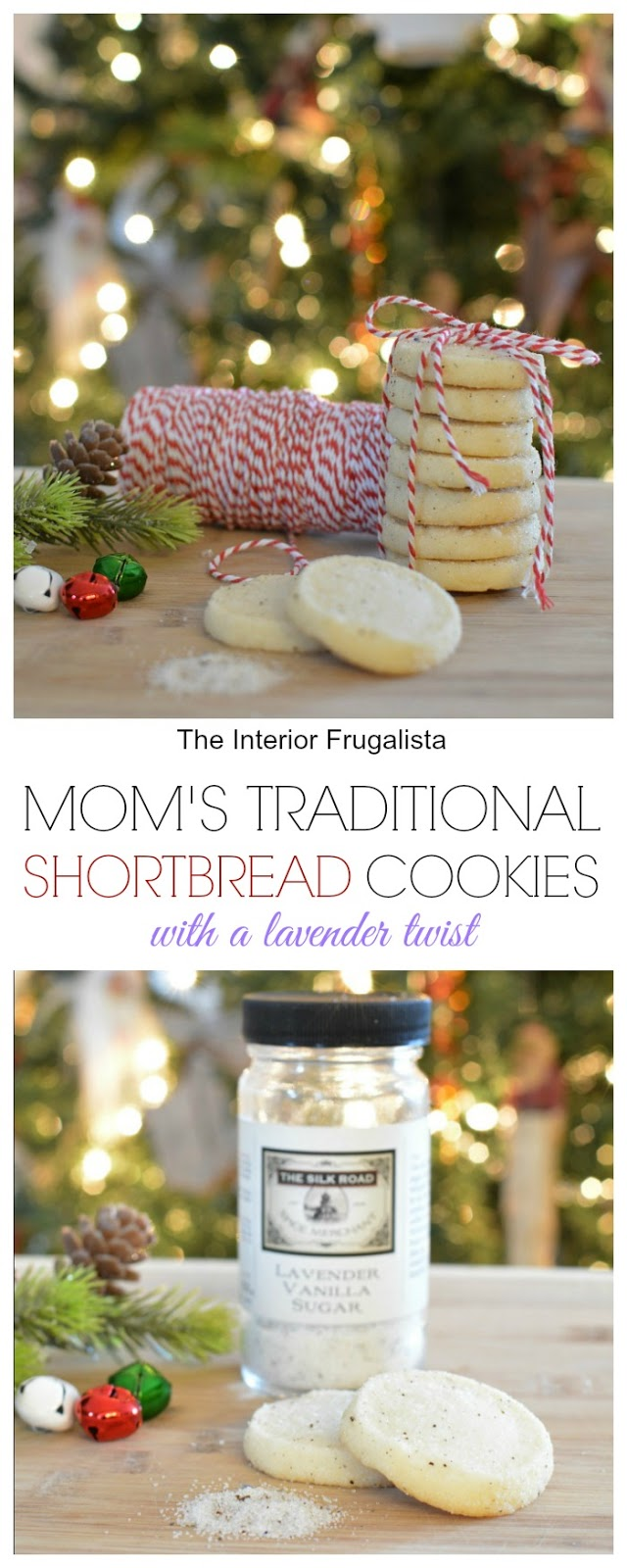 Traditional Shortbread Cookies With A Lavender Twist