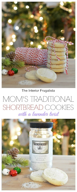 Traditional Shortbread Cookies With Lavender Twist