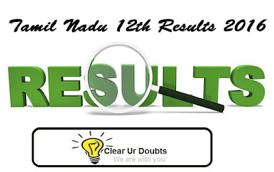 Tamilnadu 12th result 2016