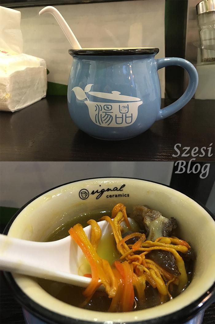 (大角咀)湯品小棧  養生燉湯足料 味道清甜