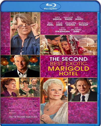 The Second Best Exotic Marigold Hotel [BD25] [2015] [Latino]
