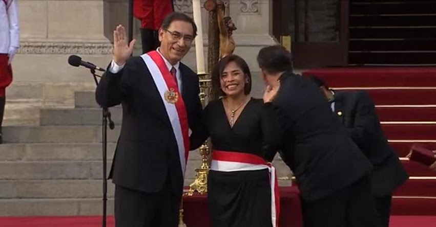 CULTURA: Patricia Jacquelyn Balbuena Palacios juramentó como nueva Ministra de Cultura (2 Abril 2018) www.cultura.gob.pe