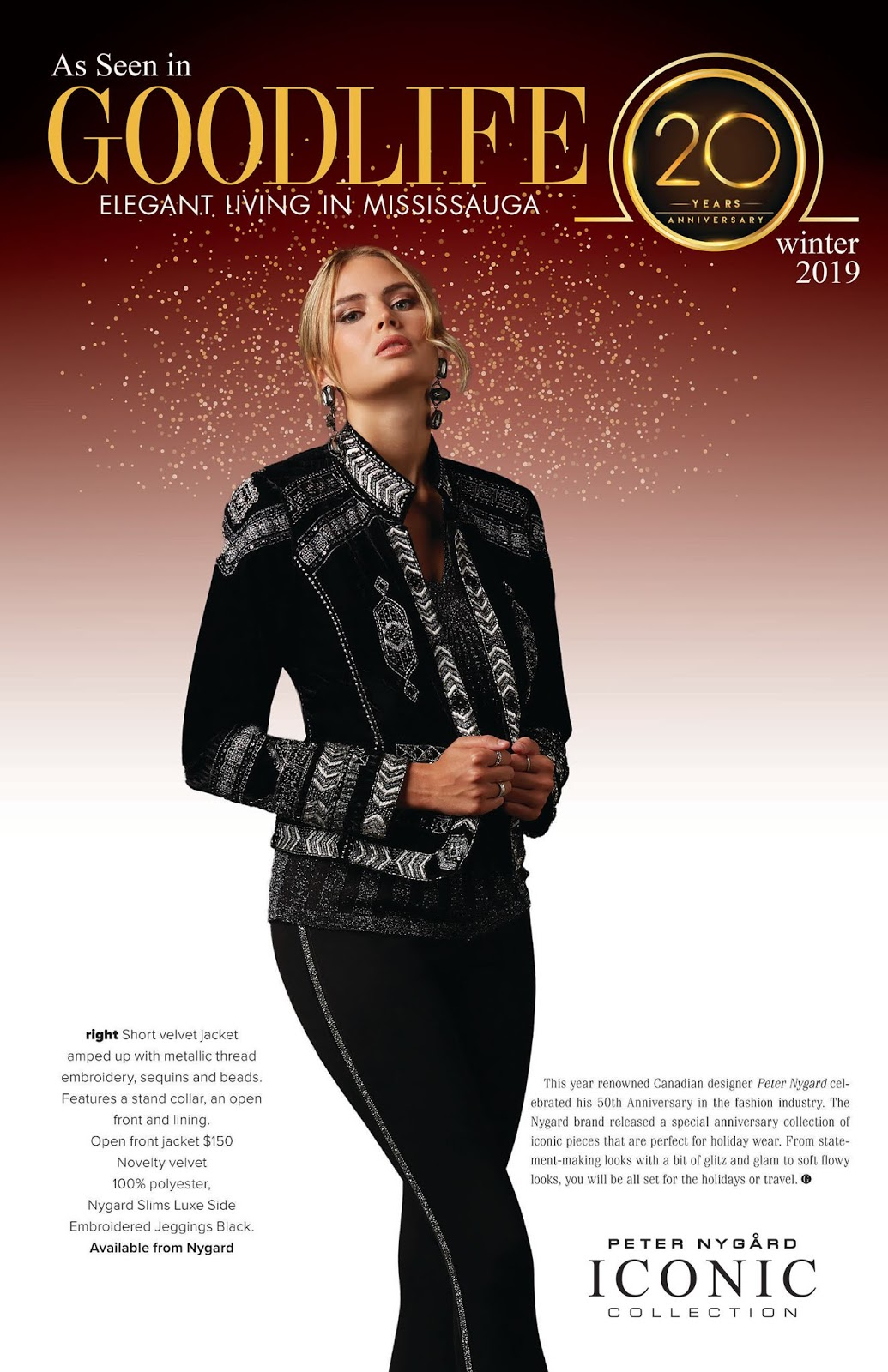 7d9f93e22f5aa The Good Life - Nygard Fashions 50 Years in Review.