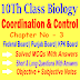 Coordination And Control 10th Biology Chapter Three Notes