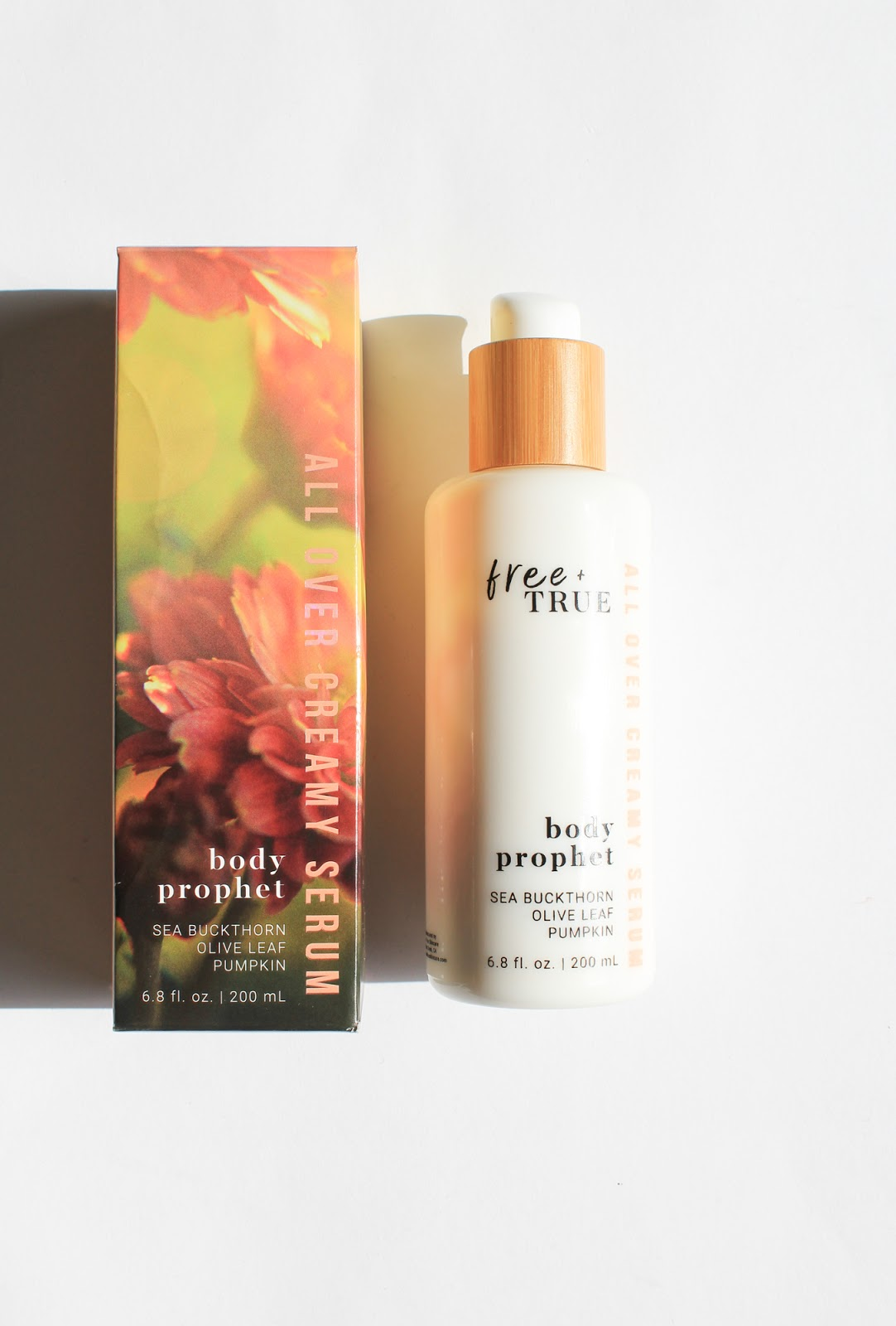 March Beauty Heroes Beauty Discovery Free + True Body Prophet All Over Creamy Serum