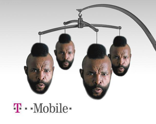 Funny Mr T Mobile Picture