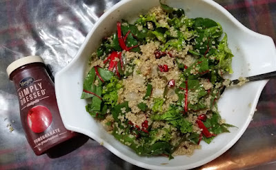 Mom's Swiss Chard & Quinoa Salad