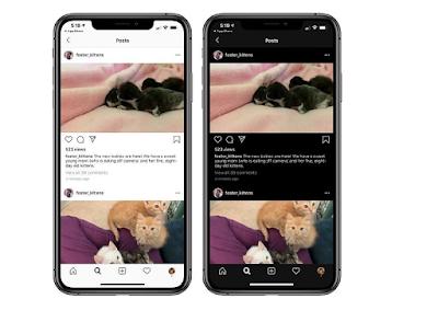 Cara Mengubah Tampilan Instagram Menjadi Gelap Atau Dark Mode