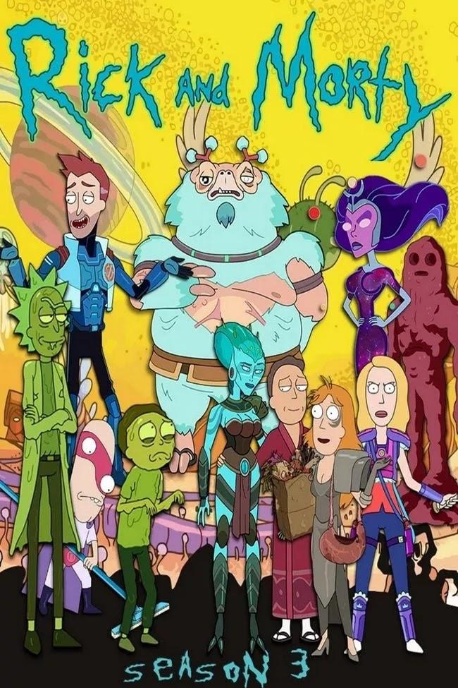 Phần 3 Rick và Morty SS3