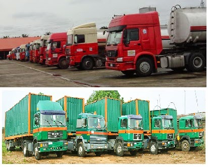 model of truck and tipper types for haulage business in Nigeria