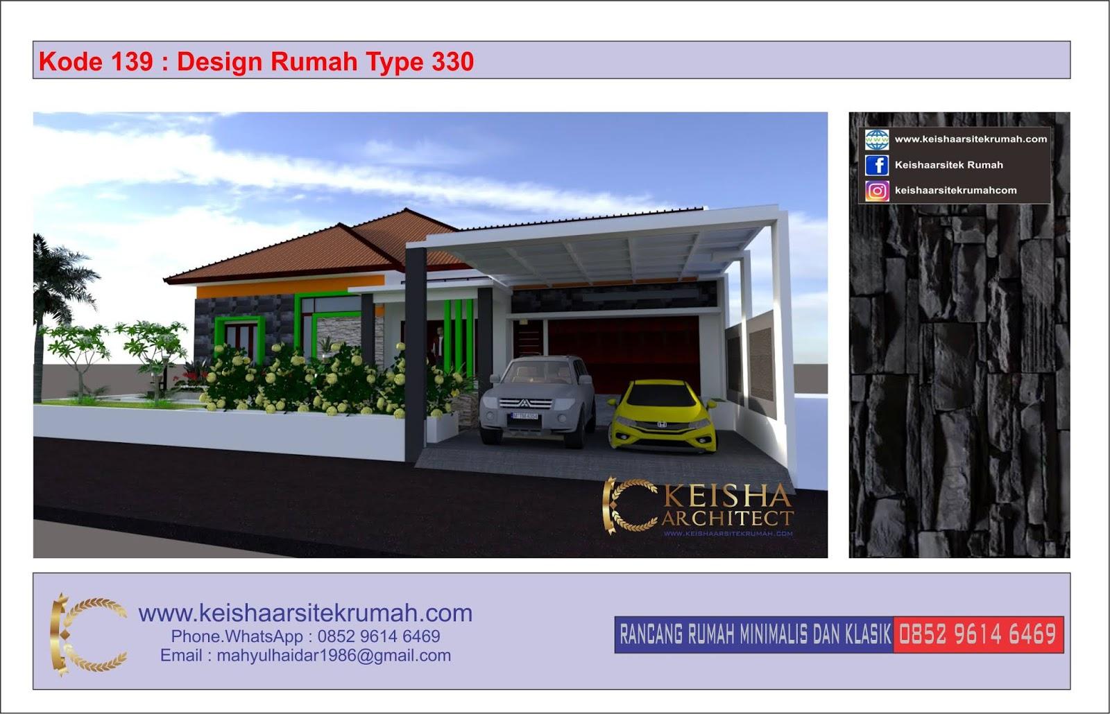 Kode 139 Desain Rumah Type 330 Bojonegoro Surabaya Jawa Timur Desain Rumah Minimalis Klasik Dan Rab Tahun 2020 Www Keishaarsitekrumah Com