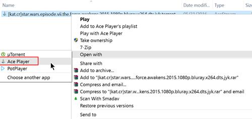Cách xem phim trực tuyến với file torrent-1