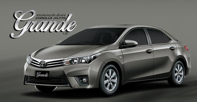Toyota Corolla Altis Grand 2015 Price In Pakistan Specs Features