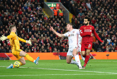 hasil skor pertandingan liverpool vs sheffield