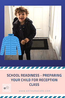 school readiness - preparing your child for reception class pin