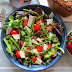 Roasted Asparagus Salad With Grapes Recipe