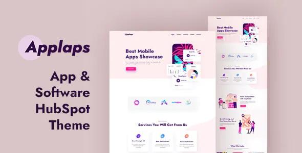 Best App Software HubSpot Theme