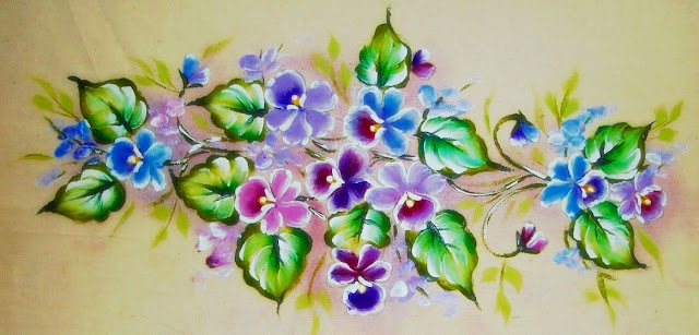 pintura em tecido barrado