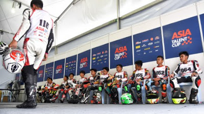 Berikut Lima Pembalap Indonesia Yang Ikut Asia Talent Cup 2017