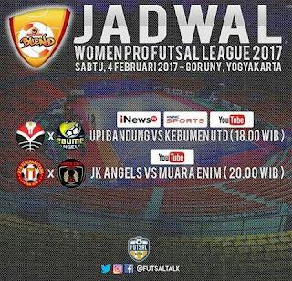 Kic Off WPFL Sore Ini, KU Angels Bertemu UPI Bandung dan Jaya Kencana Angels