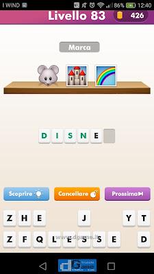 Emoji Quiz soluzione livello 83