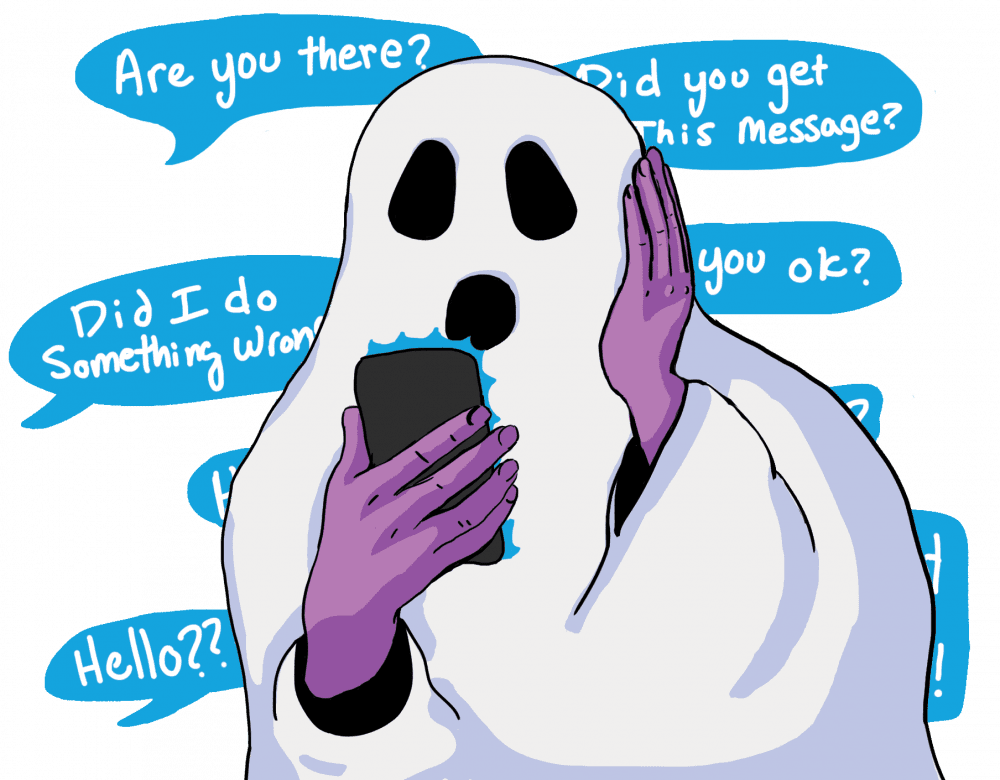 Ghosted, Ghosting