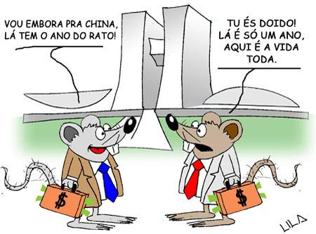 Resultado de imagem para Rato roubando rato: charges