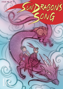 sun dragon's song comics issue 2, children, fantasy, magic