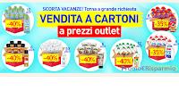 Logo asa Henkel ''Vendita a cartoni a prezzi outlet'' : sconti del 35% e 40%