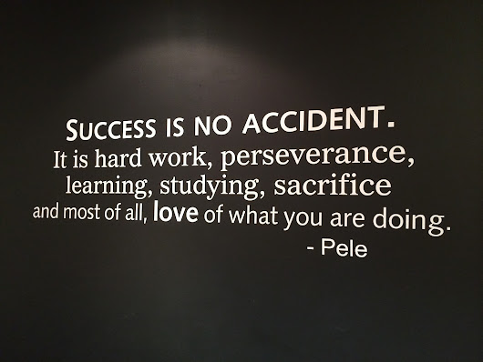 Success is no Accident!